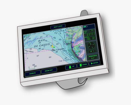 GPS sous-marin - le premier navigateur pour plongeur